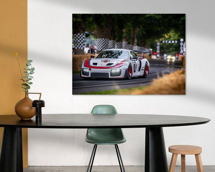 Beispiel: Porsche 935 auf dem Goodwood Festival of Speed von Bob Van der Wolf