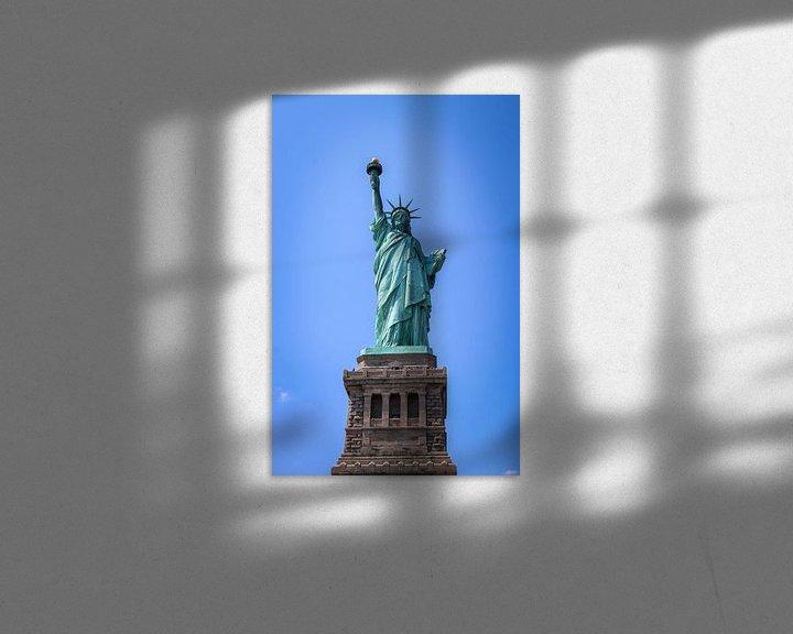 Sfeerimpressie: vrijheidsbeeld New York City van Martin Albers Photography