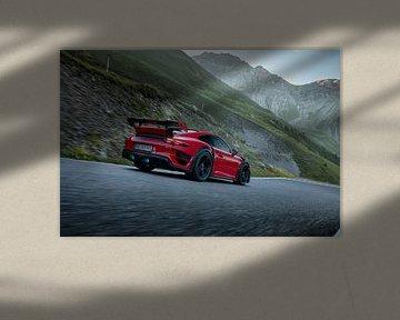 TechArt Porsche 911 GT Street RS Stelvio Pass von Gijs Spierings