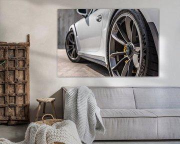 Porsche 911 GT3 RS Felgendetail von Bas Fransen