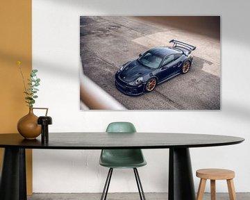 Prachtige Porsche GT2 RS op het Hungaroring Circuit van Bas Fransen
