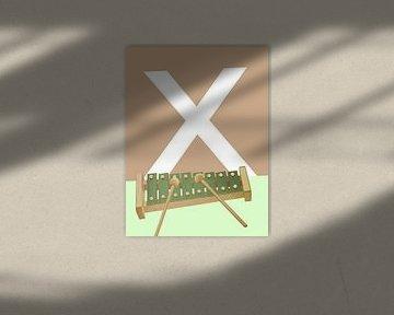 X - Xylofoon van Goed Blauw