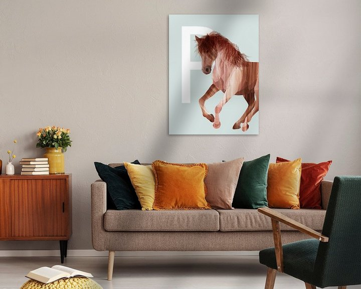 Sfeerimpressie: P - Paard van Goed Blauw