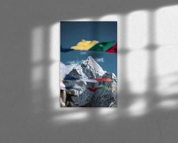 Ama Dablam (6812m) van Roy Mosterd