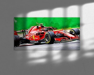 Kimi Räikkönen // Saison 2018 // F1 von Jean-Louis Glineur alias DeVerviers