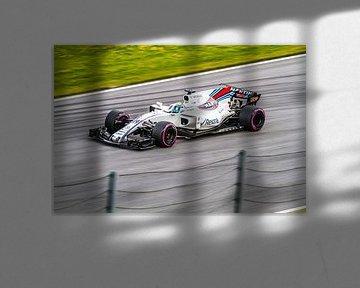 Felipe Masa in actie tijdens de Grand-Prix van Oostenrijk 2017 van Justin Suijk