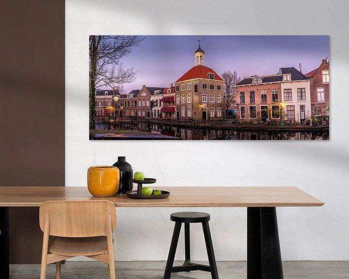 Sfeerimpressie: Schiedam; Zakkendragershuisje van Dogac Akdag
