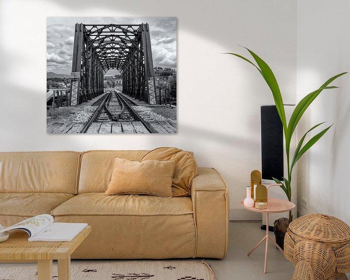 Beispiel: Eisenbahnbrücke von Corrie Ruijer