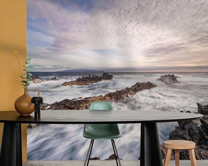 Beispiel fototapete: Wilde Küste im Abendlicht von Ralf Lehmann