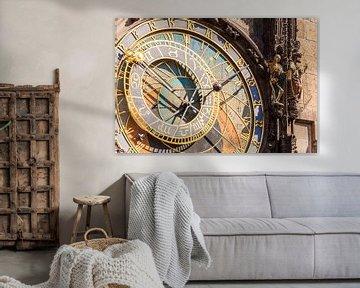 Astronomische Uhr am Altstädter Rathaus in Prag von Werner Dieterich