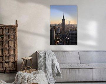 Empire State Building au coucher du soleil