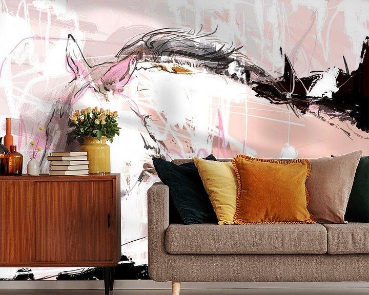 Sfeerimpressie behang: Ageless van Wilfried van Dokkumburg