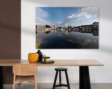 Turnhout België - Nieuwe Kaai jachthaven van Marianne van der Zee