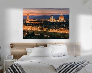 Florence vanuit Piazzale Michelangelo