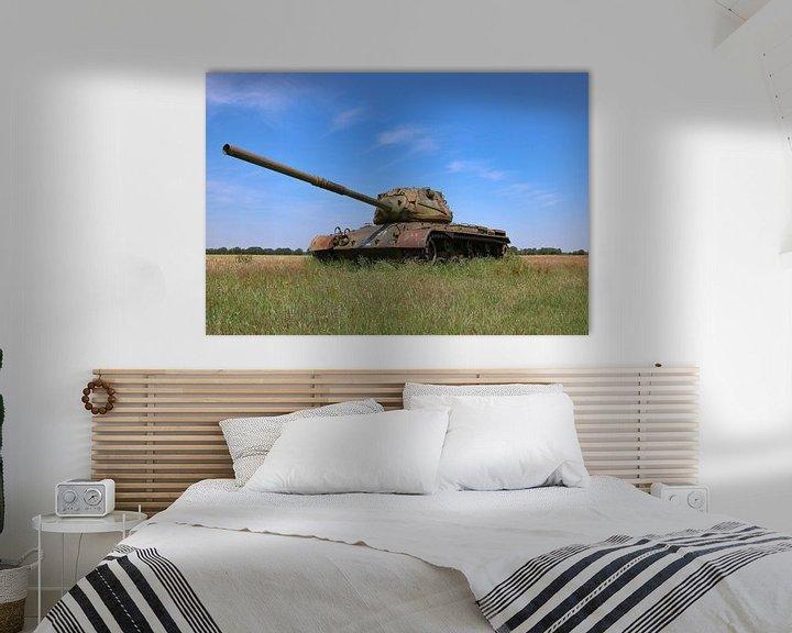 Sfeerimpressie: M47 Patton leger tank kleur van Martin Albers Photography