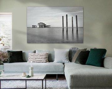 Der alte Brighton Pier von Mike Peek