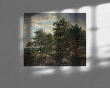 Waldblick, Jacob Isaacksz van Ruisdael, 1653