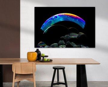 Seifenblasen mit einer Farbe von Jessie Van Kerckhove