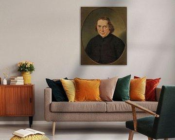 Porträt von Jan Nieuwenhuyzen, Adriaan de Lelie, 1780 - 1806