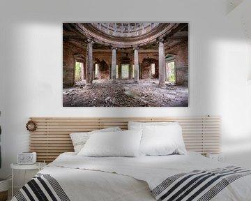 Verlassene Säulen Resort. von Roman Robroek