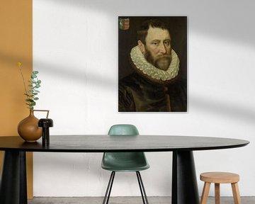 Porträt von Jacob Bas Claesz (1536-1589), Adriaen Thomasz. Schlüssel