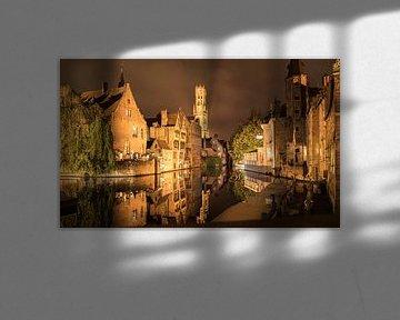 Rosenhutkai in Brügge, Belgien von Sven Wildschut