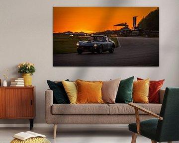 Goodwood Revival zonsondergang Ferrari 250 SWB van Bob Van der Wolf