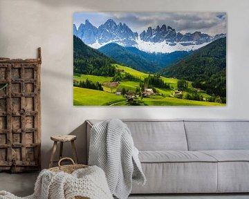 Santa Maddalena, Dolomiten, Italien