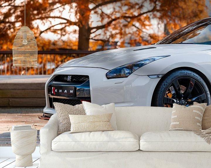 Beispiel fototapete: Nissan GT-R von Otof Fotografie