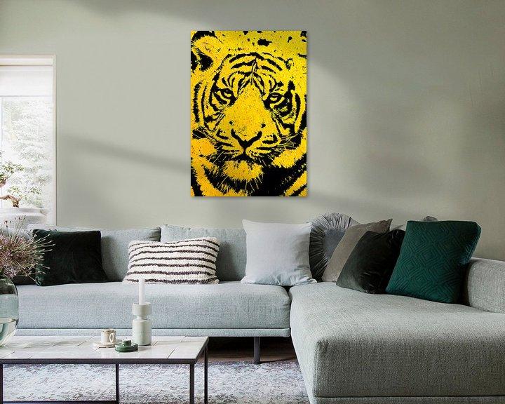 Beispiel: Tiger yellow von PictureWork - Digital artist