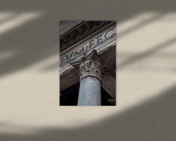 Detail van het Colosseum in Rome van Joost Adriaanse