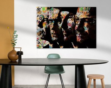Rockband von PictureWork - Digital artist