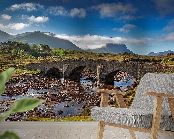 Impression: Pont historique à Sligachan, île de Skye sur Jürgen Wiesler