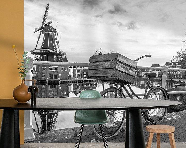 Beispiel fototapete: Mühle der Adriaan von Martijn Tilroe