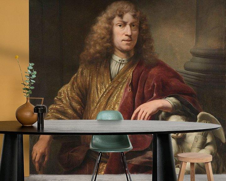 Beispiel fototapete: Selbstbildnis, Ferdinand Bol, ca. 1669