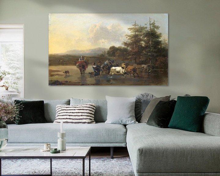 Beispiel: Der Oxdrift, Nicolaes Pietersz. Berchem