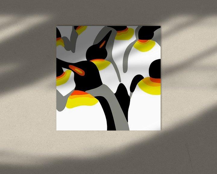 Beispiel: Pinguine von Jole Art (Annejole Jacobs - de Jongh)