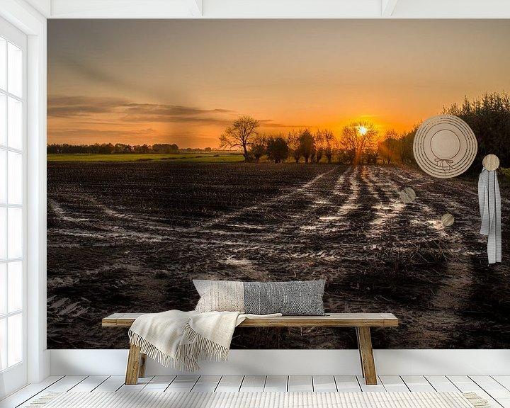 Sfeerimpressie behang: Farmers Dream van Tony Buijse