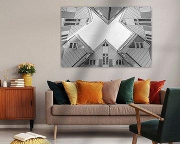 Die Kubushäuser in Rotterdam von MS Fotografie | Marc van der Stelt