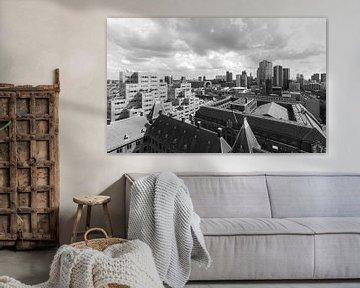 Das Rathaus, Markthal und das Timmerhuis in Rotterdam von MS Fotografie | Marc van der Stelt