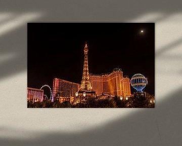 Las Vegas USA de nuit sur Bas Fransen