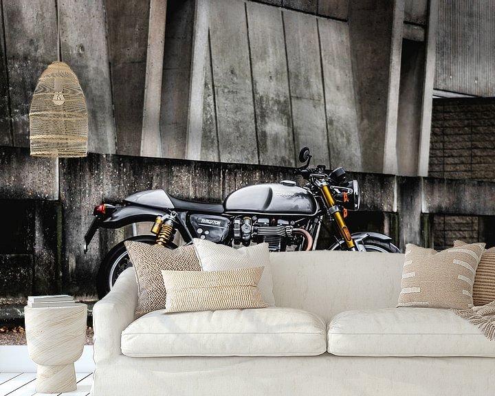 Beispiel fototapete: Triumph Thruxton R von Westland Op Wielen