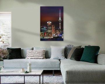 Sunset Auckland, Neuseeland