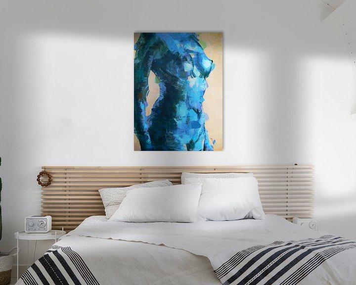 Beispiel: Cool blue lady. von Alies werk