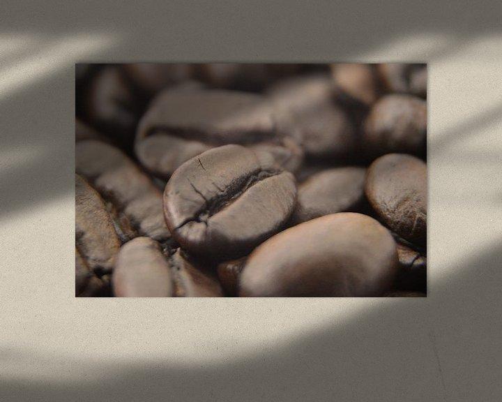 Sfeerimpressie: Koffiebonen van Dustin Musch