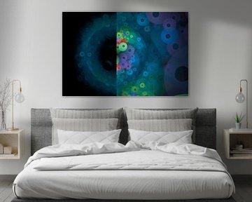 Cercles dans l'univers sur Bernardine de Laat