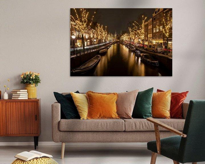 Sfeerimpressie: Spiegelgracht Amsterdam van Foto Amsterdam/ Peter Bartelings