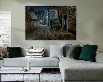 Oude straat van Peter Zendman