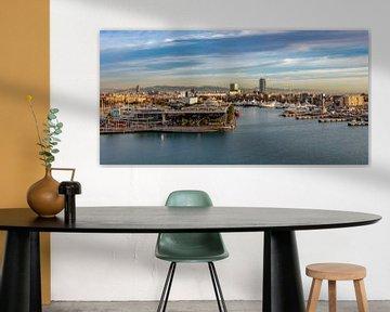 Hafen Port Vell in Barcelona von Jürgen Wiesler