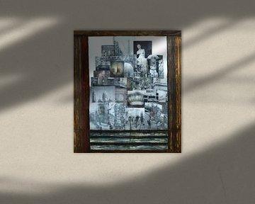 Der Blick schweift durch das Fenster. von Ineke de Rijk